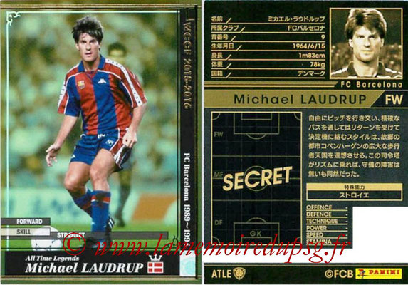 2015-16 - Panini WCCF - N° ATLE06 - Michael LAUDRUP (FC Barcelone) (All Time Legends)