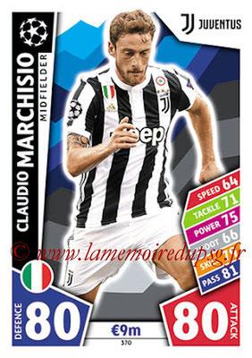 2017-18 - Topps UEFA Champions League Match Attax - N° 370 - Claudio MARCHISIO (Juventus)