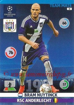 2014-15 - Adrenalyn XL champions League N° 038 - Bram NUYTINCK (RSC Anderlecht)