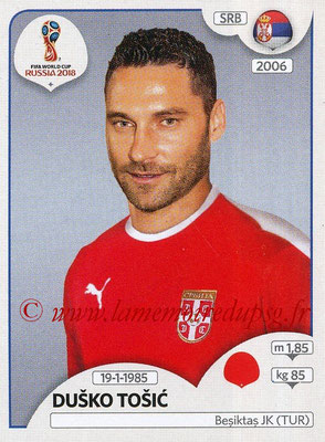2018 - Panini FIFA World Cup Russia Stickers - N° 419 - Dusko TOSIC (Serbie)