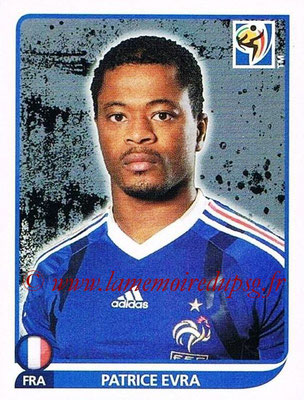 2010 - Panini FIFA World Cup South Africa Stickers - N° 094 - Patrice EVRA (France)