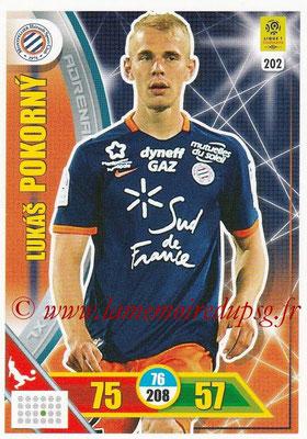 2017-18 - Panini Adrenalyn XL Ligue 1 - N° 202 - Lukas POKORNY (Montpellier)