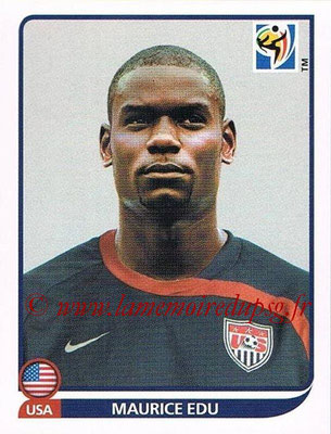 2010 - Panini FIFA World Cup South Africa Stickers - N° 213 - Maurice EDU (États Unis)