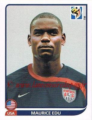 2010 - Panini FIFA World Cup South Africa Stickers - N° 213 - Maurice EDU (États Unis)