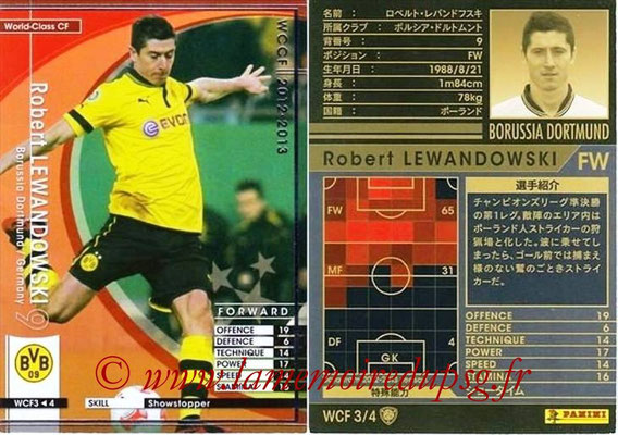 2012-13 - WCCF - N° WCF3 - Robert LEWANDOWSKI (FC Bayern Munich) (World Class CF)