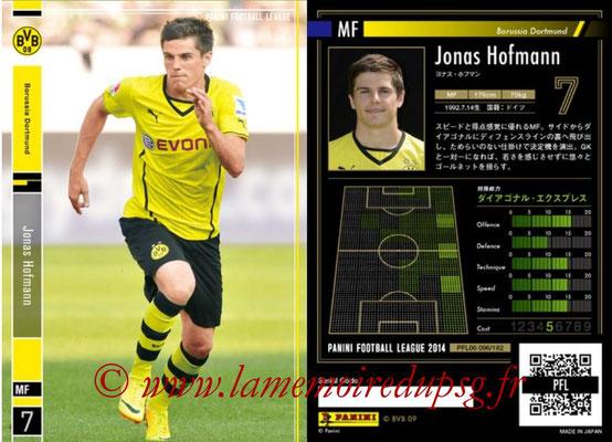 Panini Football League 2014 - PFL06 - N° 096 - Jonas HOFMANN (Borussia Dortmund)