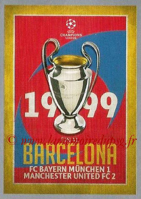2015-16 - Topps UEFA Champions League Stickers - N° 591 - UEFA Champions League Final 1998-99
