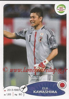 2014 - Panini Road to FIFA World Cup Brazil Stickers - N° 397 - Eiji KAWASHIMA (Japon)