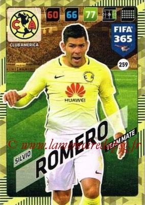 2017-18 - Panini FIFA 365 Cards - N° 259 - Silvio ROMERO (Club America)