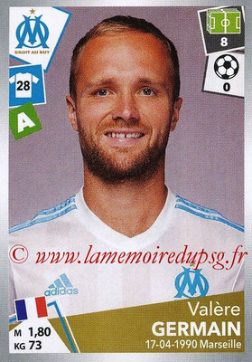 2017-18 - Panini Ligue 1 Stickers - N° 222 - Valère GERMAIN (Marseille)