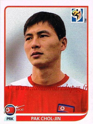 2010 - Panini FIFA World Cup South Africa Stickers - N° 511 - Pak CHOL-JIN (Corée du Nord)
