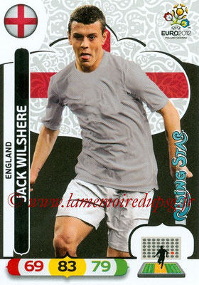Panini Euro 2012 Cards Adrenalyn XL - N° 053 - Jack WILSHERE (Angleterre) (Rising Star)