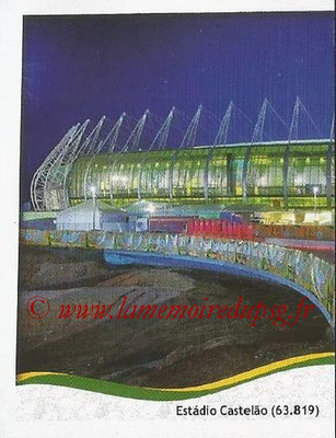 2014 - Panini FIFA World Cup Brazil Stickers - N° 016 - Estadio Castelao - Fortaieza (1)