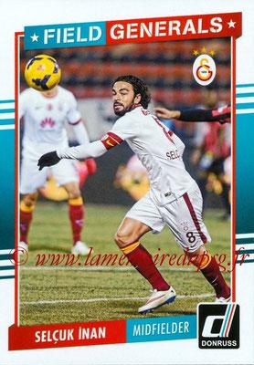 2015 - Panini Donruss Soccer - N° FG13 - Selçuk INAN (Galatasaray AS) (Field Generals)