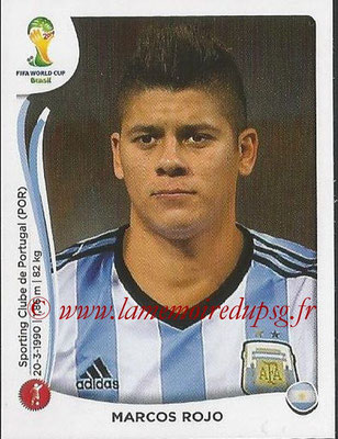 2014 - Panini FIFA World Cup Brazil Stickers - N° 419 - Marcos ROJO (Argentine)