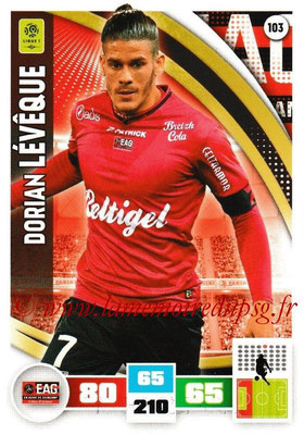 2016-17 - Panini Adrenalyn XL Ligue 1 - N° 103 - Dorian LEVÊQUE (Guingamp)