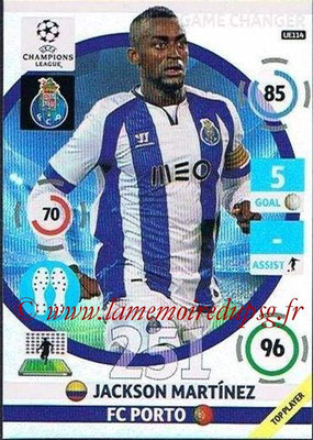 2014-15 - Adrenalyn XL champions League Update edition N° UE114 - Jackson MARTINEZ (FC Porto) (Game Changers)