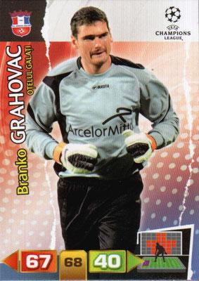 2011-12 - Panini Champions League Cards - N° 203 - Branko GRAHOVAC (FC Otelul Galati)