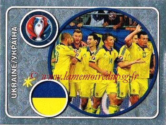 Panini Euro 2016 Stickers - N° 235 - Équipe d' Ukraine