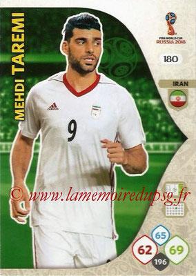 2018 - Panini FIFA World Cup Russia Adrenalyn XL - N° 180 - Mehdi TAREMI (Iran)