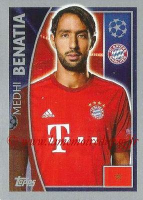 2015-16 - Topps UEFA Champions League Stickers - N° 379 - Medhi BENATIA (FC Bayern Munich)