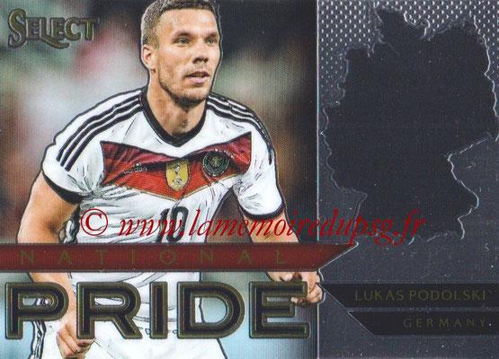2015 - Panini Select Soccer - N° NP20 - Lukas PODOLSKI (Allemagne) (National Pride)