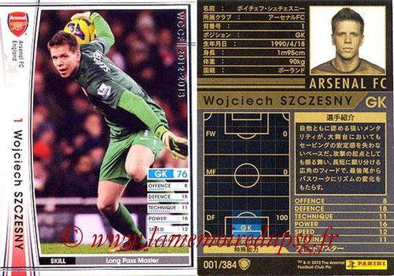 2012-13 - WCCF - N° 001 - Wojciech SZCZESNY (Arsenal FC)