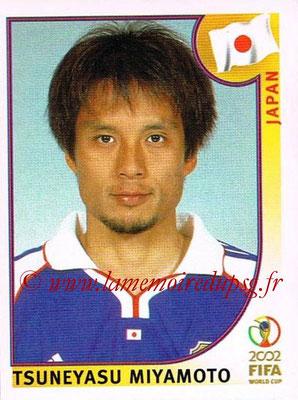 2002 - Panini FIFA World Cup Stickers - N° 536 - Tsuneyasu MIYAMOTO (Japon)