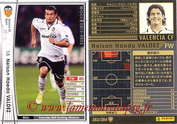 2012-13 - WCCF - N° 383 - Nelson Haedo VALDEZ (FC Valence)