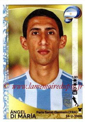 Panini Copa America Centenario USA 2016 Stickers - N° 318 - Angel DI MARIA (Argentine)