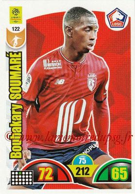 2018-19 - Panini Adrenalyn XL Ligue 1 - N° 122 - Boubakary SOUMARE (Lille)