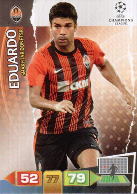 2011-12 - Panini Champions League Cards - N° 246 - EDUARDO (Shakhtar Donetsk)