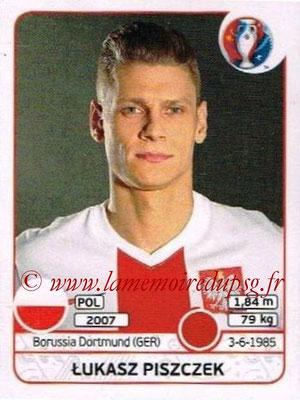 Panini Euro 2016 Stickers - N° 301 - Lukasz PISZCZEK (Pologne)