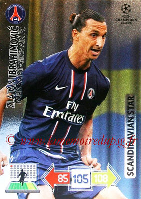 2012-13 - Adrenalyn XL champions League N° 359 - Zlatan IBRAHIMOVIC (Paris Saint-Germain) (Scandinavian Star)