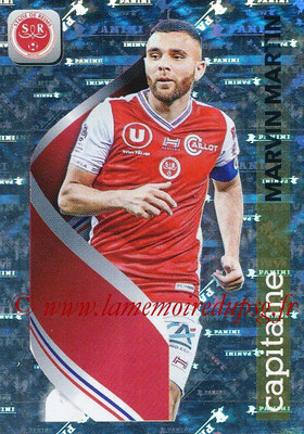 2018-19 - Panini Ligue 1 Stickers - N° 397 - Marvin MARTIN (Reims) (Capitaine)