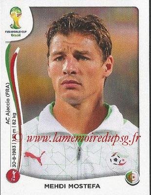 2014 - Panini FIFA World Cup Brazil Stickers - N° 590 - Mehdi MOSTEFA (Algérie)