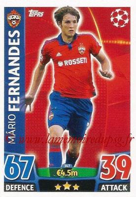 2015-16 - Topps UEFA Champions League Match Attax - N° 347 - Mario FERNANDES (CSKA Moscou)