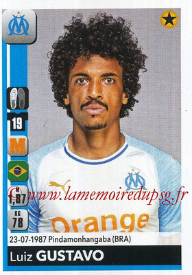 2018-19 - Panini Ligue 1 Stickers - N° 211 - Luiz GUSTAVO (Marseille)