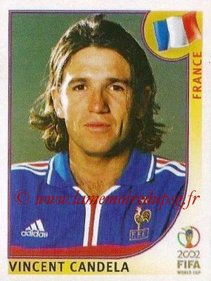 2002 - Panini FIFA World Cup Stickers - N° 033 - Vincent CANDELA (France)