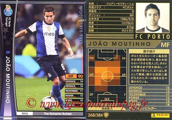2012-13 - WCCF - N° 268 - Joao MOUTINHO (FC Porto)