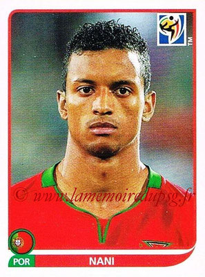 2010 - Panini FIFA World Cup South Africa Stickers - N° 557 - NANI (Portugal)