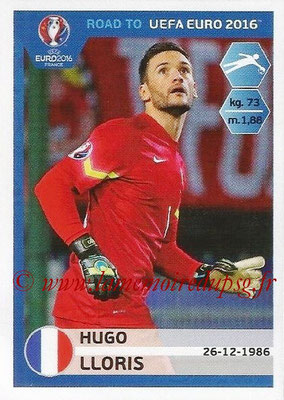 Panini Road to Euro 2016 Stickers - N° 097 - Hugo LLORIS (France)