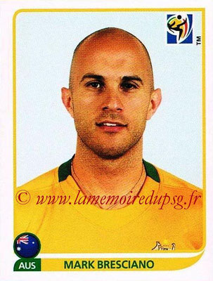 2010 - Panini FIFA World Cup South Africa Stickers - N° 289 - Mark BRESCIANO (Australie)