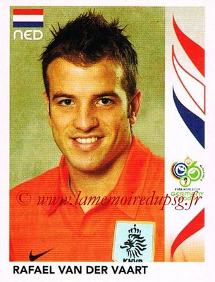 2006 - Panini FIFA World Cup Germany Stickers - N° 238 - Rafael VAN DER VAART (Pays Bas)
