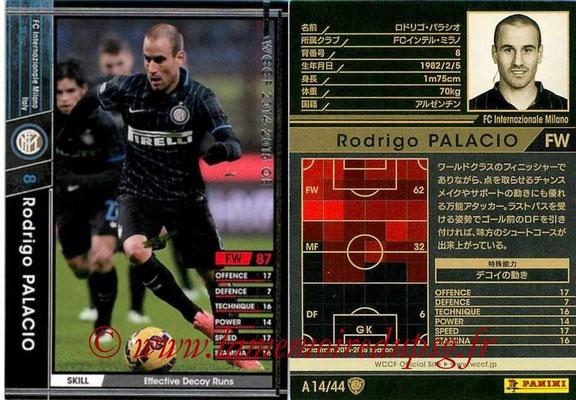 2013-14 - WCCF - N° A14 - Rodrigo PALACIO (FC Inter Milan)