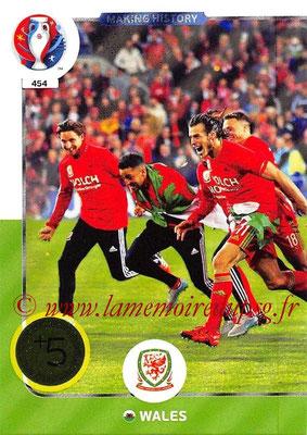 Panini Euro 2016 Cards - N° 454 - Making History de Pays de Galles