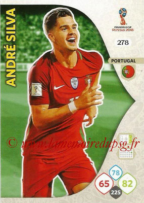 2018 - Panini FIFA World Cup Russia Adrenalyn XL - N° 278 - André SILVA (Portugal)