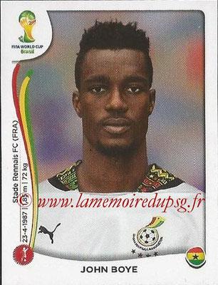 2014 - Panini FIFA World Cup Brazil Stickers - N° 533 - John SOYE (Ghana)