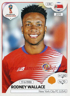 2018 - Panini FIFA World Cup Russia Stickers - N° 408 - Rodney WALLACE (Costa Rica)