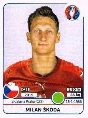 Panini Euro 2016 Stickers - N° 402 - Milan SKODA (République Tchèque)